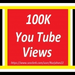 Safe 100k or 100,000+Real Non Drops YouTube Views +1500 YouTube Likes Bonus In Complete