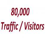 Get 80000 Targeted Countries Website Human Traffic / Visitors service