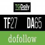 Publish Guest Post On TGDAILY tgdaily. com DA - 72/ PA - 77 Do-Follow