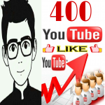 Get instant 400+ video likes OR 70+ manually non drop subscriber very fast in 2-3 hours