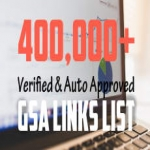 l Will 300k Auto Approve And Verified GSA Fresh List November 2017