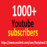 1000+Non Drops YouTube Subscribers