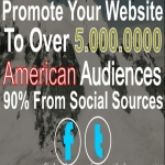 I Will Promote Your Website Or Anything To Millions of Usa Fans And Followers