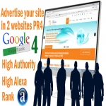 Advertise your site on 2 pr4 web design company sites