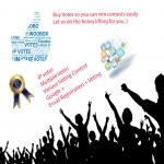 100-5000 Up Votes for Online Contest Voting.10-25 percent bonus votes Promote you Up.