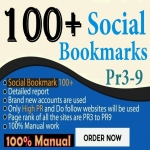 Do 100+ Manual TOP Social bookmarking for website/youtube video Backlinks