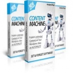 give you WP Content Machine PRO Plugin