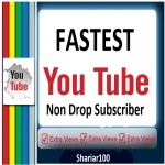 Guarentted 500+ Y-Tube Channel Non Drop S. ubscribes Fastest Delivery