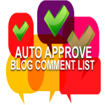 Auto Approve List of AA Blogs + Edu + DoFollow + GOV + WP Ping List