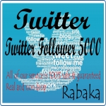 great offer 1000 twitter follow real & non drop your account guaranteed