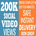 Get Instant 200K+ VIEWS On YOUR VIDEOS