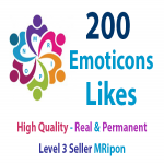 Start Instant 500 High Quality Emoticons Post Likes