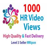 Add Instant 1000 High Retention Video Views