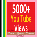 Add 5000+ HR Non Drops YouTube Views 24-48 Hours In Complete