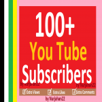 100+Manually YT Subscribers 12-24 Hours In Complete