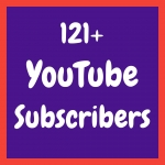 Add 121+ Permanent & Active You'Tube Channel Subs'cribers within 2-3 hours only