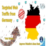send real targeted geo traffic web visitors from Germany