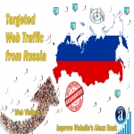 send real targeted geo traffic web visitors from Russia