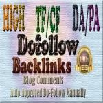 40 DA20+ TF5+ Dofollow comments backlinks