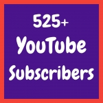 Add 525+ non drop you'tube channel subs'cribers & active follo'wers completed within 10-12 hours