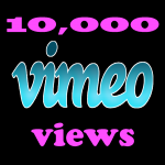 Instant 10,000 Vimeo Views in under 12 hours