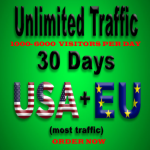 provide unlimited,  real,  adsense safe, usa social traffic