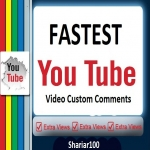 SuperFast 30+ Y-Tube Non drop Custom Comments Different account must be give