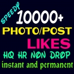 Add 10000+ Super Fast, HQ, Non Drop Social Post or Photo Promotion