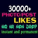 Provide 30000+ HQ, Non Drop Social Post or Photo Promotion Instantly