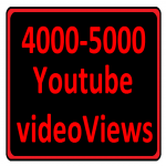 4000- 5000 YouTube Video Views Non drop Give super fast Delivery