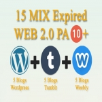 15 Expired Wordpress Weebly Blogspot PA 10 Plus