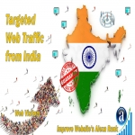 Send 25000 India web visitors real targeted geo traffic