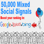 50,000 Mixed Social Signals Big Bang Mega Power Pack Illuminate Your Search Engine Ranking