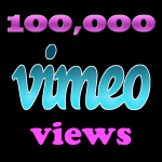 Instant Start 100,000 Vimeo Views in 24-48 Hours