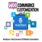 I will do wordpress and woocommerce customization