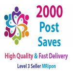 Add Instant 2000 High Quality Post Saves