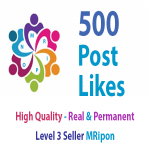 500 Real and Non-Drop Profile Photo Post Video Album Likes