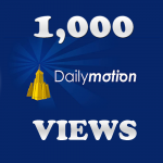 Get 1,000 Dailymotion Views Instant Start In 24 Hours