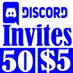 Buy 50 Discord Invites