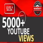 Get 5000+ YouTube VIEWS HIGH RETENTION Instant Start Fully safe Guaranteed