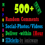 Get Random On your social Photos/Video/Post with 1hour