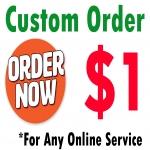 Custom Order - Keep Calm and Donate
