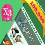 On Sale 100,000+ Top 5 Social Media Social Signals Share