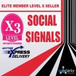 50,000 Mixed Social Media Marketing Social Signals Share