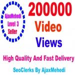 Do Genuine Viral Promotion 200k HQ Social Media Post Video views Non Drop Guarantee
