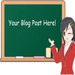 Blog Post Recommending Your Site Or Affiliate Link