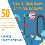 Get Your GOOGLE Serp A Boost With 50 DA20+ And PA20+ PBNs Backlinks