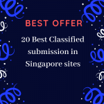 Advertise Your Business On Top 20 Singapore Classified Sites