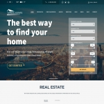 Real Estate Website with Domain Name & Fully Installed & 2 Year Website Hosting