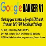 Rank up your website in Google SERPs with Premium SEO PBN Backlinks Package - Google Ranker V1